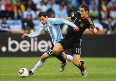 Argentina 0 Alemania 4 (Copa del Mundo Sudáfrica 2010,Estadio Green Point,Ciudad del Cabo,03/07/2010)