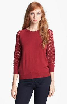 MARC BY MARC JACOBS 'Cienaga' Crewneck Sweater available at #Nordstrom