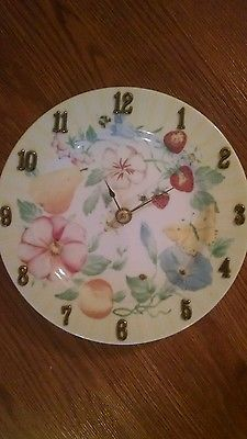 Pastel Flower Clock