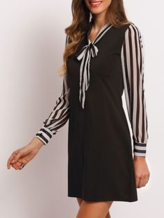 Модное облегающее платье. воротник-бант