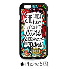 Girl Power Inspiration iPhone 6S  Case