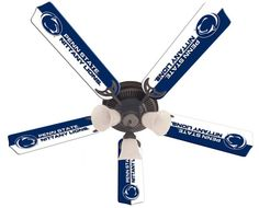 Penn State Nittany Lions 52-Inch Ceiling Fan Kit