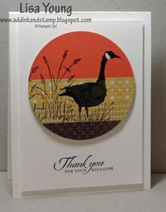 Wetland Silhouette CCMC266 by genesis - Cards and Paper Crafts at Splitcoaststampers