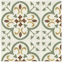SomerTile 7.75x7.75-inch Renaissance Memory Ceramic Floor and Wall Tile (Case of 25) - Overstock™ Shopping - Big Discounts on Floor Tiles