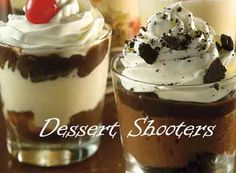 Applebee's Restaurant Copycat Recipes: Chocolate Mousse Dessert Shooter…This has the free recipe. Made it for a party, and everyone LOVED them!!..Laura