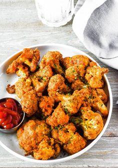 Cauliflower Nuggets (Vegan, Gluten-Free)