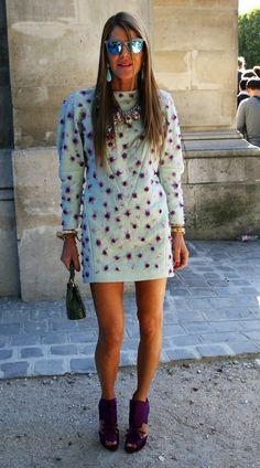 Anna Dello Russo Street #Style