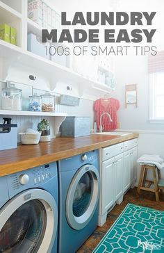 Laundry Made Easy : 100s of smart tips