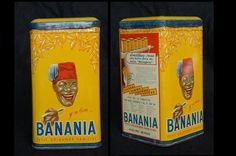 Chocolat en poudre Banania (céréales et bananes)