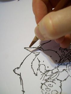 Dorcas Designs: Colored Pencil Tutorial using Goo Gone or baby oil instead of a blender pen