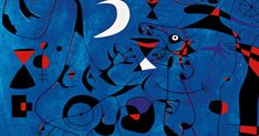 Las Constelaciones de Miró. Una serie de pequeñas obras sobre papel (23 en total), con signos que representan astros, pájaros y mujeres... Astro, Celestial, Flag, Country, Constellations, Concept, Paper Envelopes, Women, Rural Area