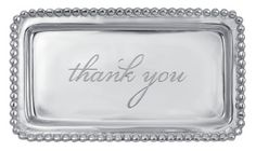 """""""Thank You"""" tray"""