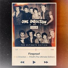 http://www.onedirectionmusic.com/ Click her to get Fireproof and to pre-order FOUR! (: