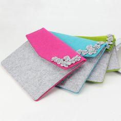 2087 designer felt fashion i-pad bag