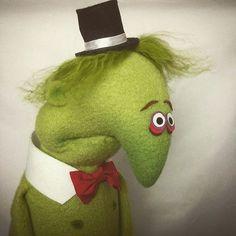 Grumpy puppet by Ryan Dillon.