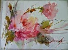 Resultado de imagen para quadros de flores em aquarela