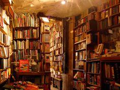 Old book shop, Versailles, France