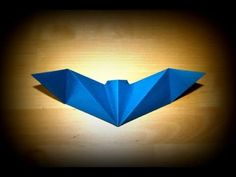 Origami Halloween - Chauve-souris: Reine de la nuit [Senbazuru]