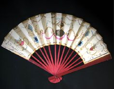 Evening Fan, gouache on paper, 1785