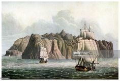 Colonial Ship Drawing