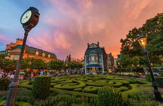 Disney Parks After Dark: Bon Nuit from Epcot's France Pavilion