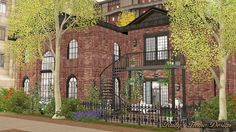 The Sims, Sims 1, Play Sims 4, New York Loft, Anime Scenery Wallpaper, Minecraft Designs, Sims 4 Houses, Cute House, Floor Plans