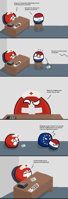 The Endeavours of Nurse Switzerland: No Responsibility