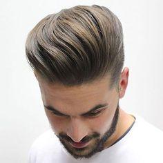 Classy Hairstyles - Short Sides + Textured Modern Quiff