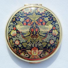 "Stratton compact - William Morris Design ""Strawberry Thief"", £29.99"