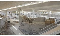 Akrotiri Santorini, Archaeological Site, Archaeology, Shelter
