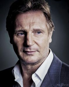 Liam Neeson, The Sexiest Irish Man in Hollywood Actor Liam Neeson, Liam Neeson Taken, Liam Neeson Movies, Hero Movie, Handsome Actors, Star Wars, Portraits, British Actors, The Villain