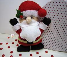♥♥♥ Ho, Ho, Ho...   by sweetfelt  ideias em feltro