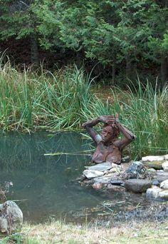 Swamp sculpture, Ireland (detail)