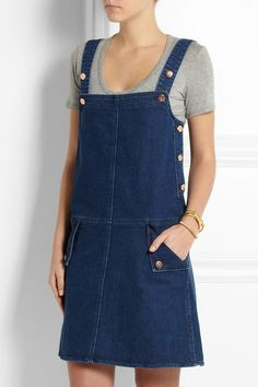 MiH Jeans pinafore dress