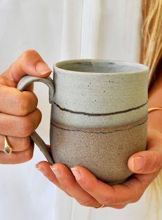 mugs handmade ceramic / mugs handmade & mugs handmade ceramic & mugs handmade paint & mugs handmade pottery & mugs handmade clay & mugs handmade design & handmade coffee mugs & pottery coffee mugs handmade Stoneware Mugs, Ceramic Cups, Ceramic Art, Porcelain Ceramic, Coffee Lover Gifts, Gift For Lover, Coffee Lovers, Lovers Gift, Rustic Ceramics