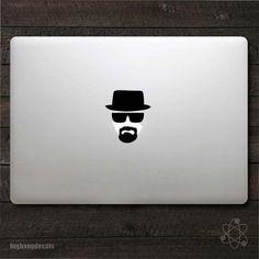 Breaking Bad Inspired Heisenberg MacBook Decal MacBook Sticker | eBay