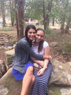 Sister! #newyork #ElizabethPark #besties #loveyou