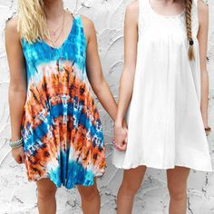 Summer days with friends you'll never forget and cute sun dresses
