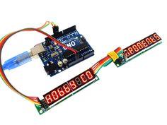 MAX7219 8 Digit Seven Segment Display Module (HCMODU0082)
