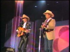 Buck Owens Dwight Yoakam Streets of Bakersfield (1988) ~ Oh Dwight!  No wonder I always liked his style.  I finally talked my husband into concert # 2.