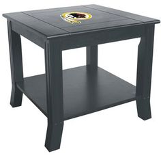 Use this Exclusive coupon code: PINFIVE to receive an additional 5% off the Washington Redskins Side Table at SportsFansPlus.com
