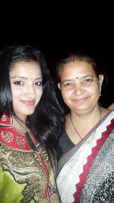 Richa Panai Selfie With Mother