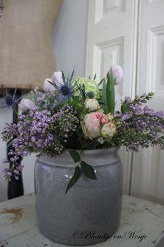 flowers bouquet shabby pastels