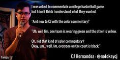#CarlosHernandez , #CJHernandez , #comedian , #comedy , #funny , #StandUp, #Jokes , #fun , #comic , #lol , #joke