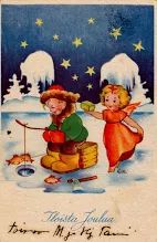 Kuva: Tampereen Kirjapaino Oy  23/10 Vintage Christmas, Albums, Painting, Art, Picasa, Vintage White Christmas, Art Background, Painting Art, Kunst