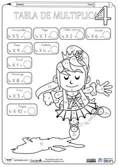 actividades de multiplicacion para segundo grado para