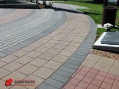 Standard Series with Custom Inlays, Veterans Park, Victoria Paver Patterns, Landscaping, Victoria, Patio, Outdoor Decor, Yard, Terrace, Yard Landscaping, Landscape