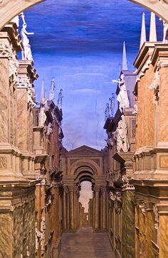 Teatro Olimpico - Vicenza - Palladio - stage set by Vincenzo Scamozzi