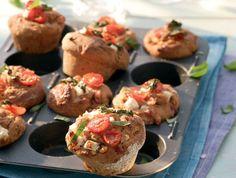 Tomaten-Roggen-Muffins