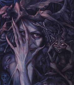 Queen of the Bad faeries  ~Brian Froud~